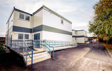 SiBCAS Portable Modular Accommodation, Claremont Primary Manchester
