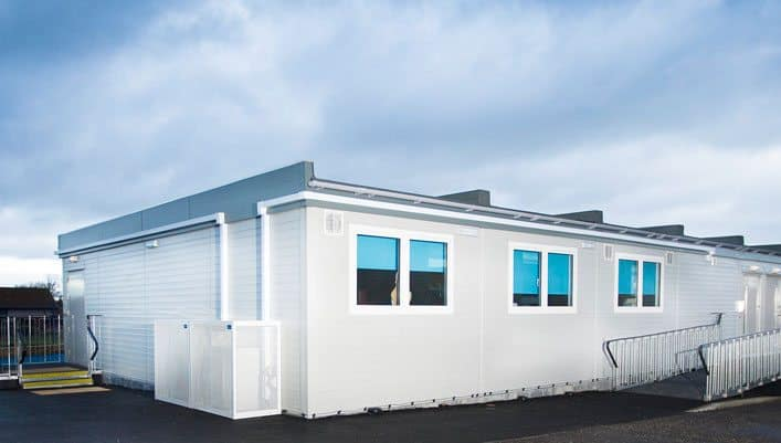 California Primary School, SiBCAS Portable Buildings