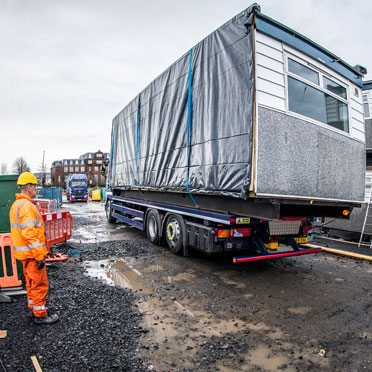 SiBCAS Modular Building Site Installation UK