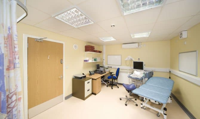 SiBCAS Modular Heathcare Units, Battle Hill Health Centre, Newcastle Upon Tyne,UK