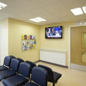 Modular Heath Care Unit internal waiting room