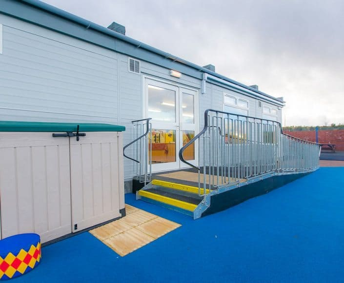 Modular Building California Primary School, Falkirk