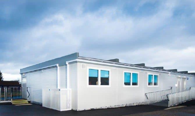 SiBCAS modular Building, California Primary and Nursery School, UK.