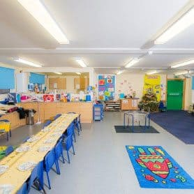 SiBCAS modular Building, California Primary and Nursery School, UK.