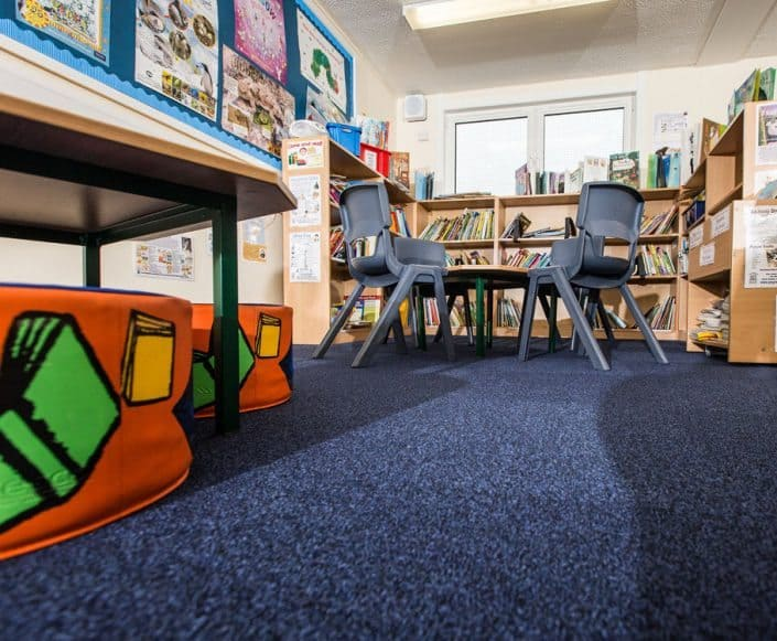 Modular classrooms Claremont Primary Manchester - internal image