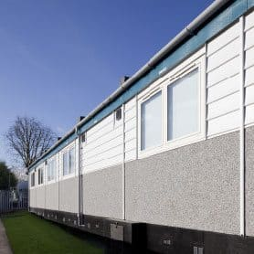 SiBCAS Portable Classrooms, Drapers Academy, London, UK.