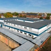 Temporary Classrooms Leyton Sixth Form College London