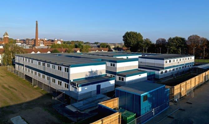 SiBCAS Modular Buildings, Leyton Sixth Form College