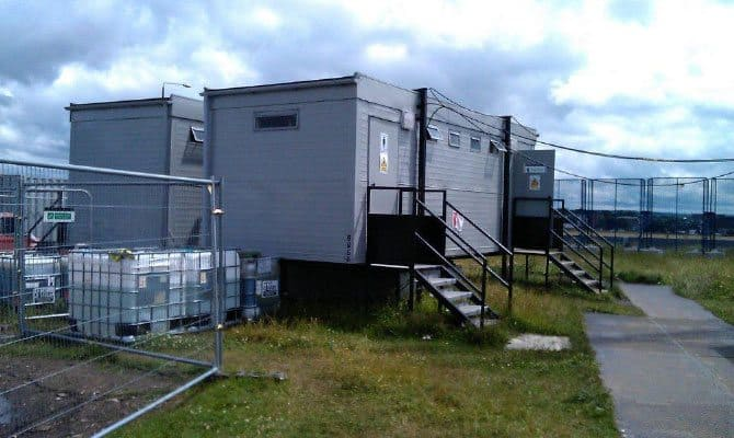 SiBCAS Welfare Unit Hire, London Olympics