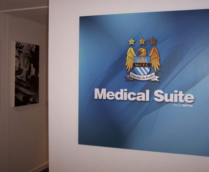 Portable Buildings Manchester FC Medical Suite