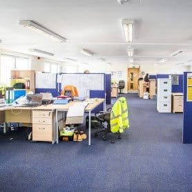 Internal image Modular office space Morpeth UK