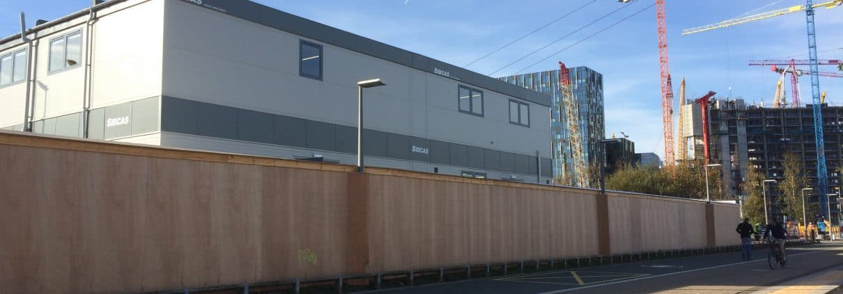 SiBCAS Modular PermaSpace accommodation at Mace Site