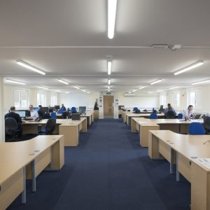 SiBCAS Modular Project Office, Derby, UK