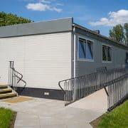 Modular Nursery- external image of Bonnybridge Nursery Campus. Modular Construction by SiBCAS UK