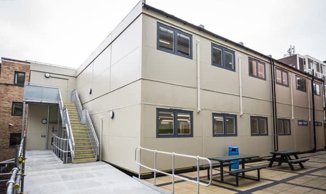 Long-term Modular Accommodation, designed and installed by SiBCAS.
