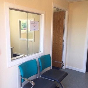 Modular Building Waiting Room - RVI Hospital Newcastle