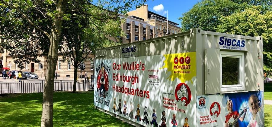 Sibcas Modular Buildings Oor Wullie HQ Edinburgh