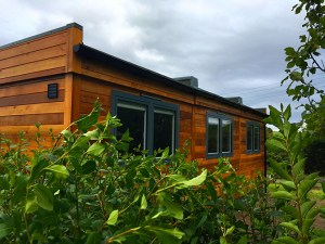 SiBCAS Cedar Clad Modular Building for Education